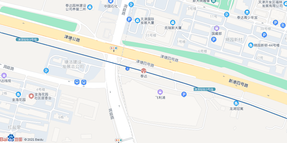 天津泰达地铁站