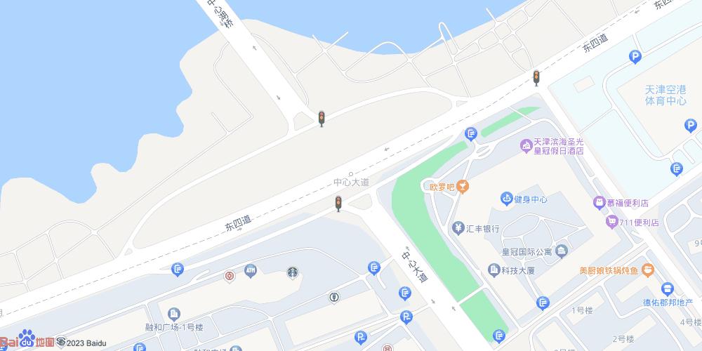 天津空港经济区地铁站