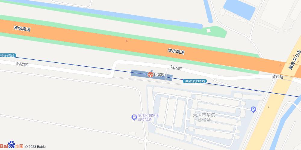 天津胡家园地铁站