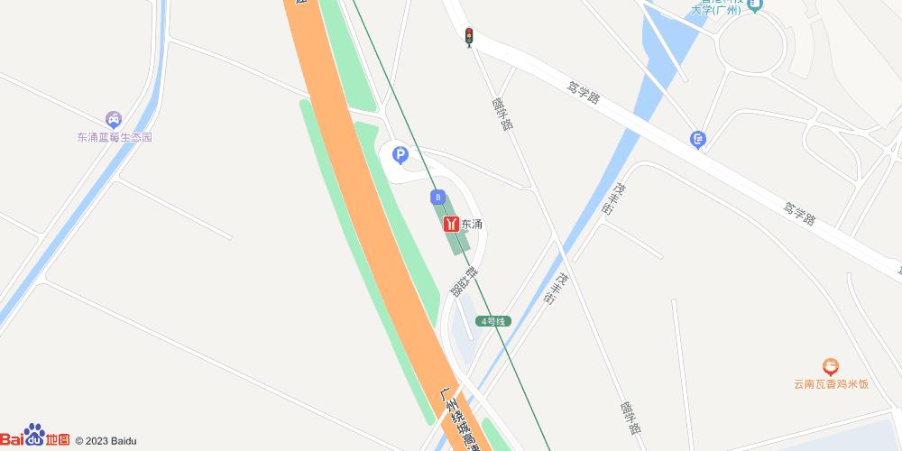 广州东涌地铁站