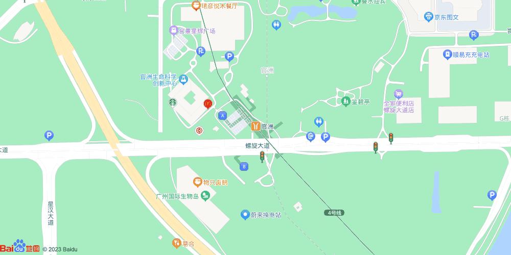 广州官洲地铁站
