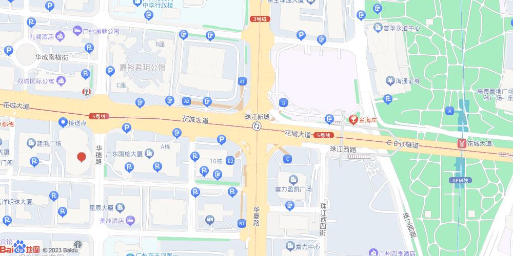 广州珠江新城地铁站