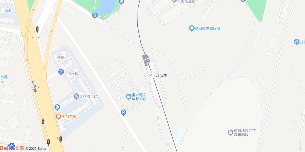 成都升仙湖地铁站