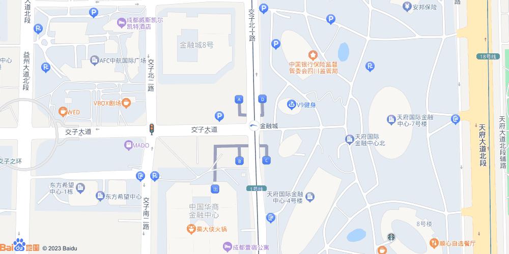 成都金融城地铁站