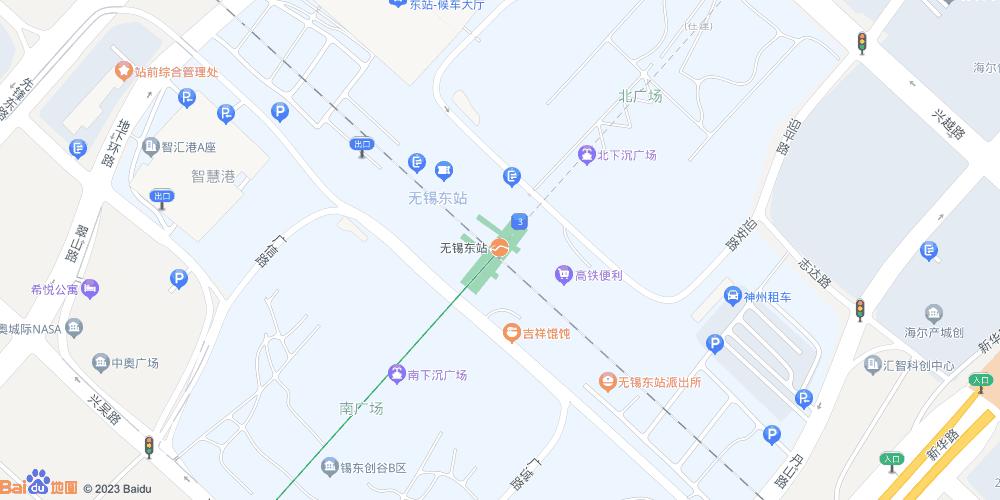 无锡东站地铁站