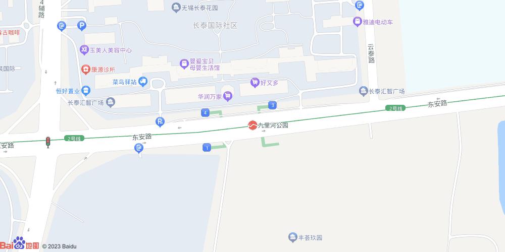 无锡九里河公园地铁站