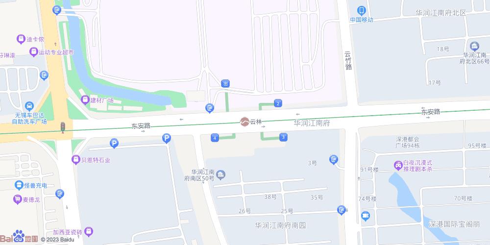 无锡云林地铁站