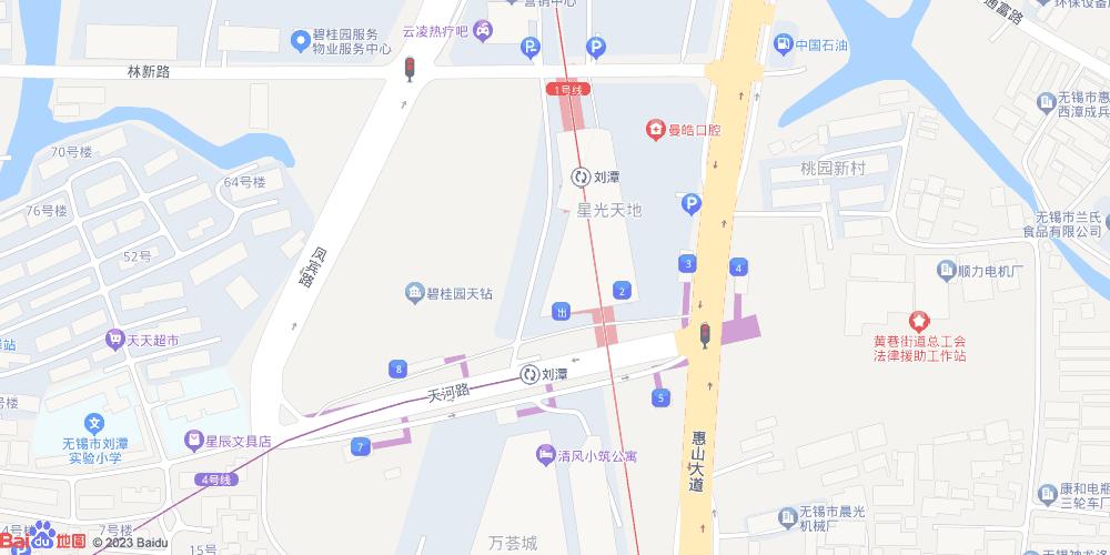 无锡刘潭地铁站