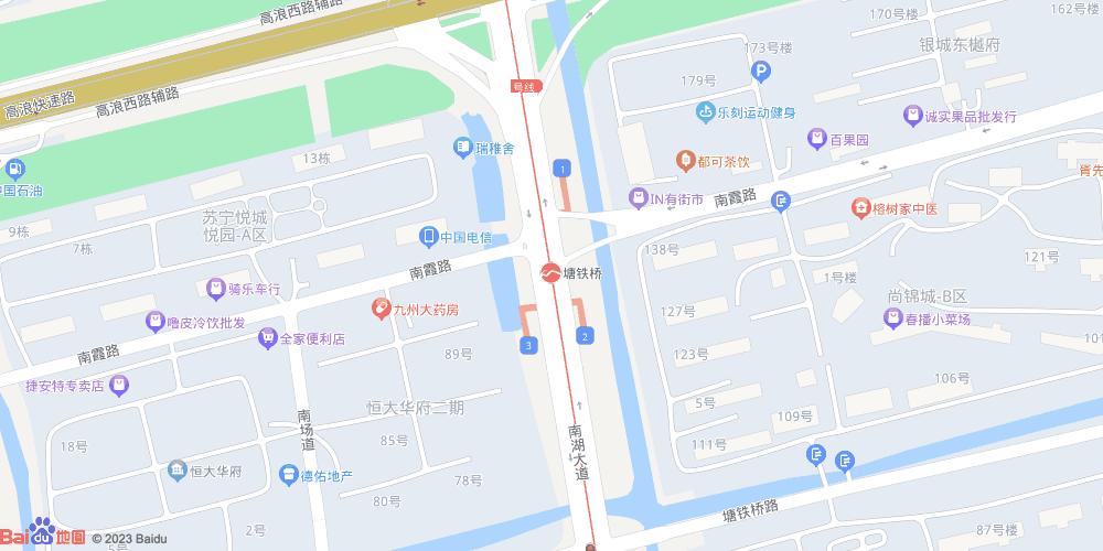 无锡塘铁桥地铁站