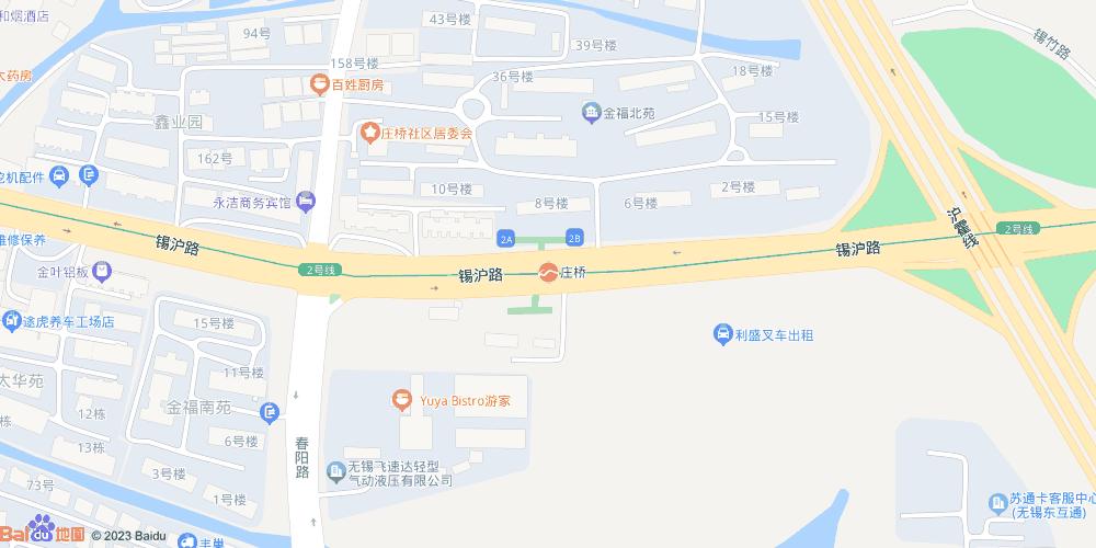 无锡庄桥地铁站