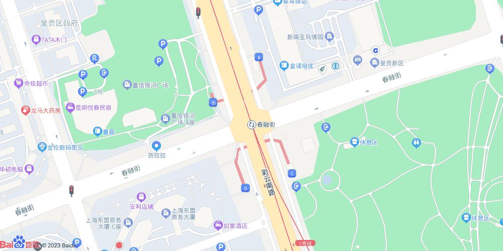 昆明春融街地铁站