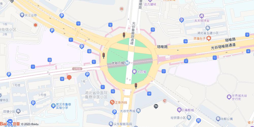 武汉光谷广场地铁站