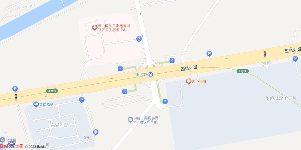 武汉工业四路地铁站