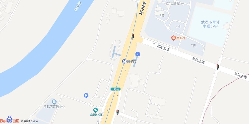 武汉滕子岗地铁站