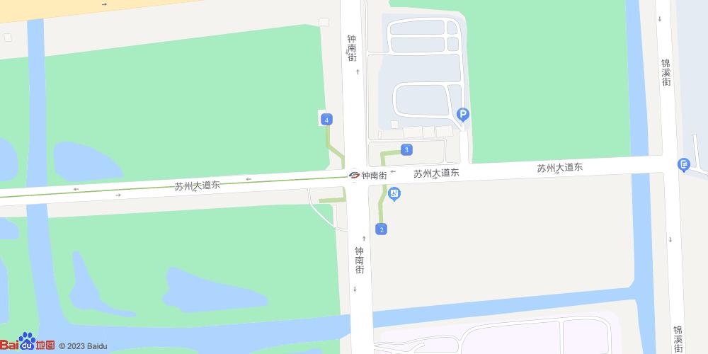 苏州钟南街地铁站
