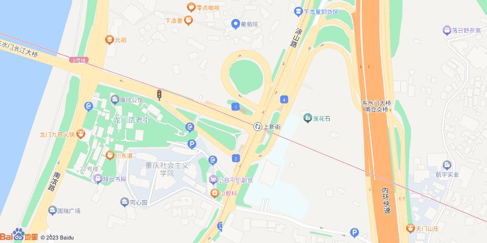 重庆上新街地铁站