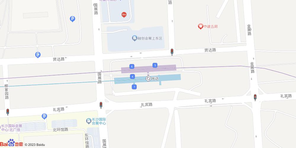 长沙光达地铁站