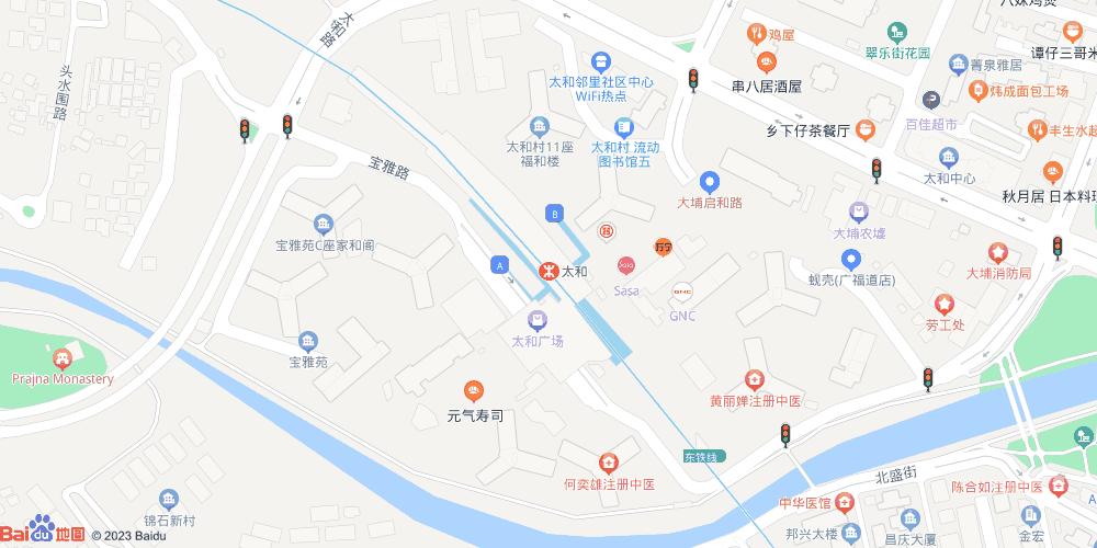 香港太和地铁站