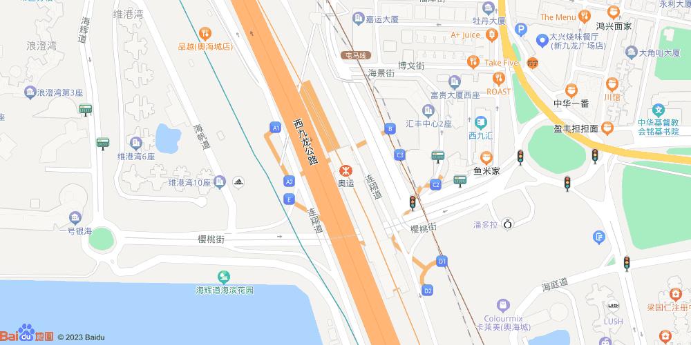 香港奥运地铁站