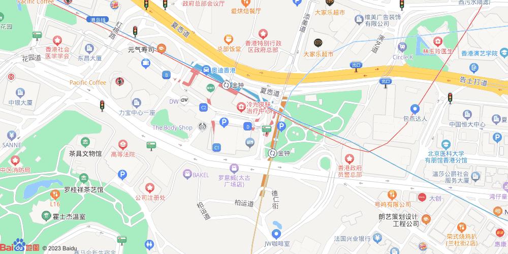 香港金钟地铁站
