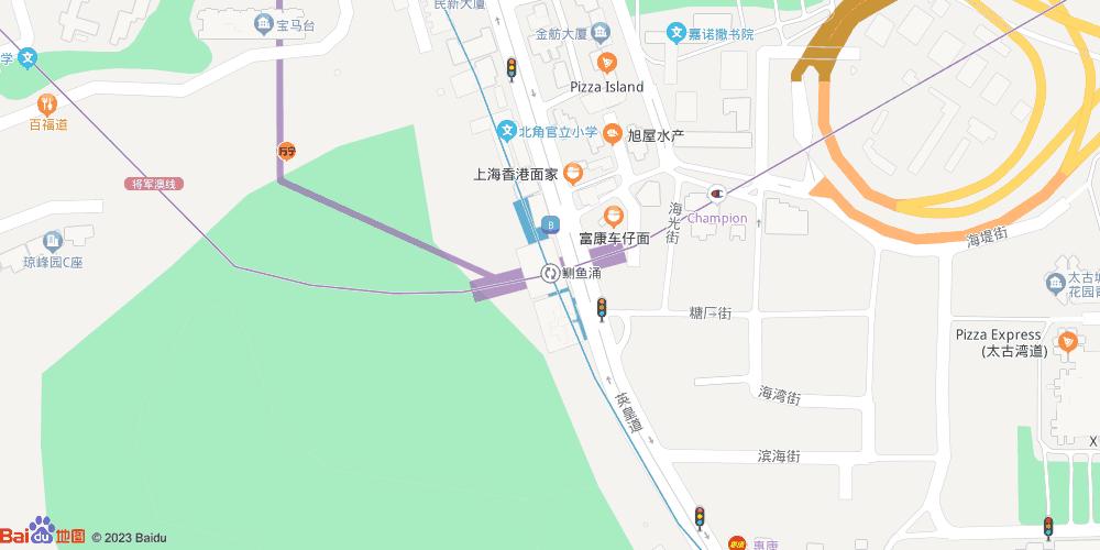 香港鲗鱼涌地铁站