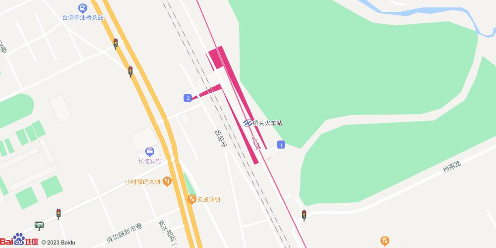 高雄桥头火车站地铁站