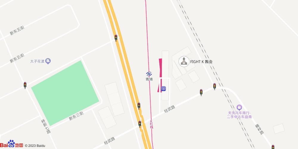 高雄青埔地铁站