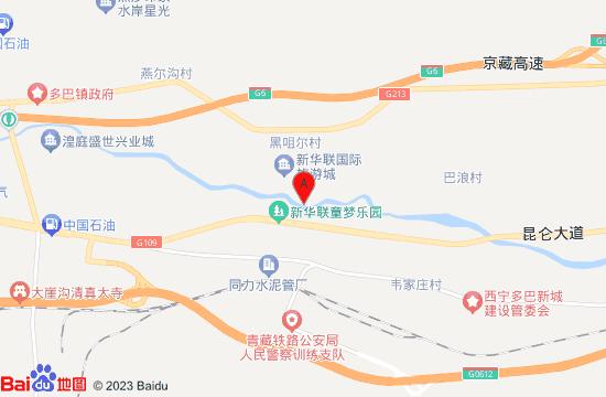 西寧新華聯童夢樂園地圖