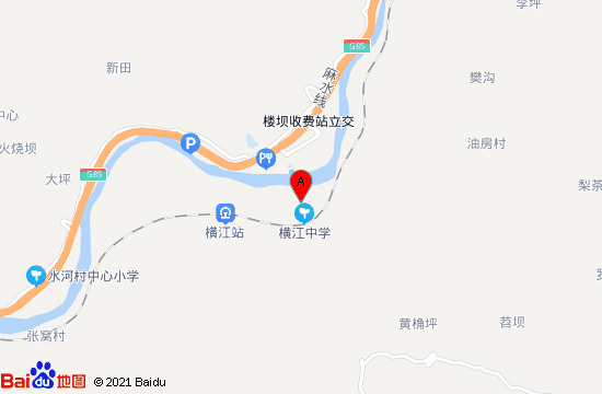 宜賓橫江古鎮地圖