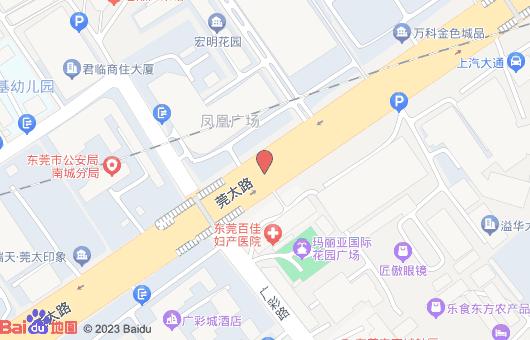东莞玛百佳丽亚妇科医院地图