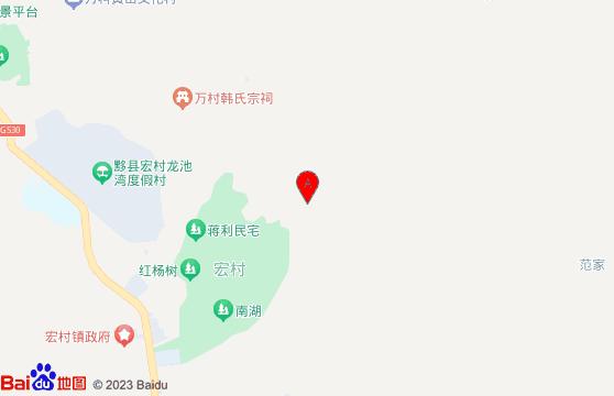 黄山旅游景点-交通地图