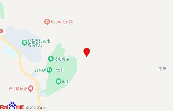 黃山高爾夫徽州二日游宏村景區交通圖