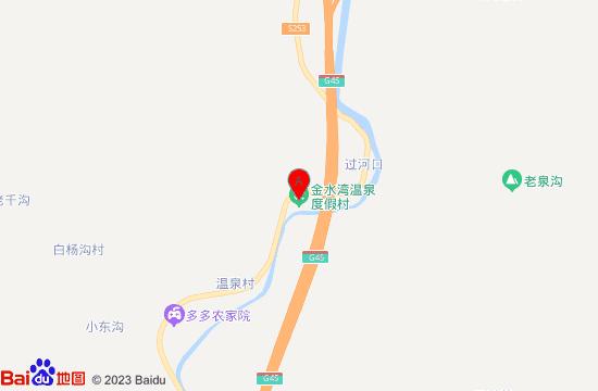隆化金水灣溫泉地圖