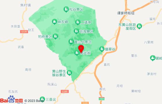 黃山旅游團二日游黃山景區交通指南