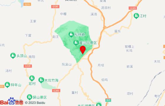 黄山旅游团四日游黄山景区交通