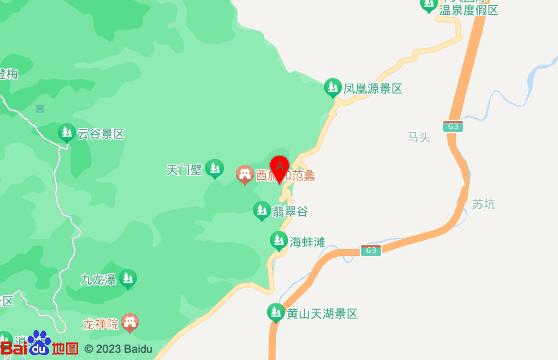 黄山旅游团-翡翠谷景区交通指南