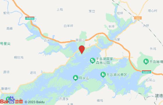黄山旅游团千岛湖风景区交通指南