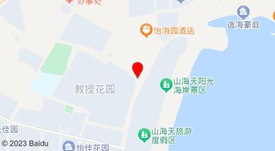假日海湾时尚酒店 地图位置
