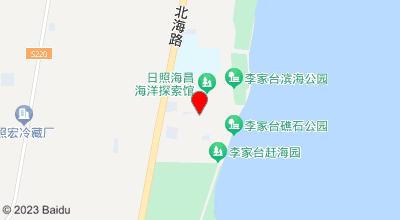 海蓝渔家 地图位置