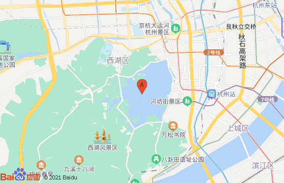 黄山地接社-杭州西湖位置