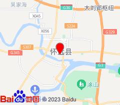 �堰h�h�L九中央�店(蚌埠)地�D