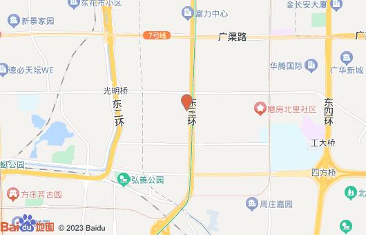 海文大厦写字楼楼盘位置地址:北京市朝阳区劲松南路1号