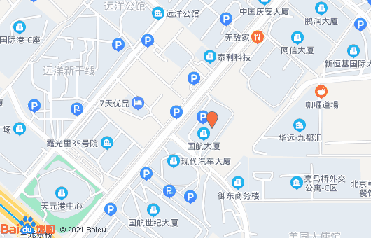 联系国航大厦(图1)