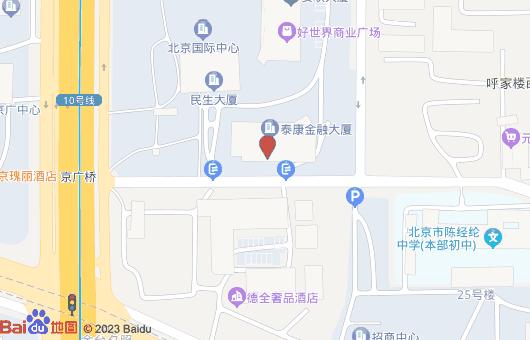 泰康金融大厦动态地图位置(图1)