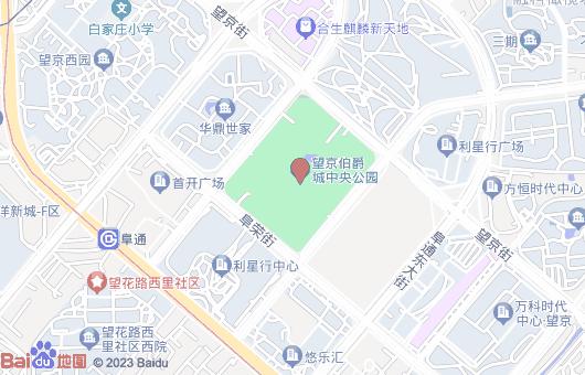 北京文化产业园地图位置
