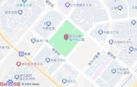 伯爵城中央公园原名望京中央公园