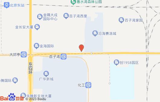 中水电国际大厦地图位置标注