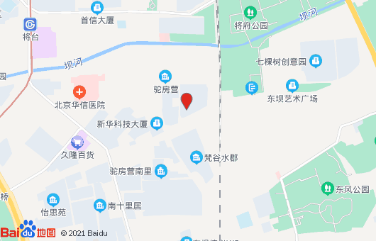 金地国际大厦地图位置标注:北京市朝阳区驼房营
