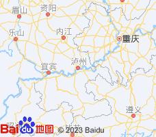 泸州电子地图
