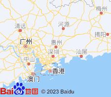 惠州电子地图